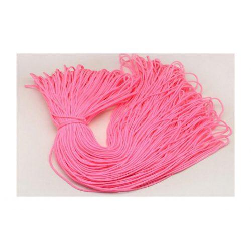 Paracord zsinór, neon rózsaszín, 2mm