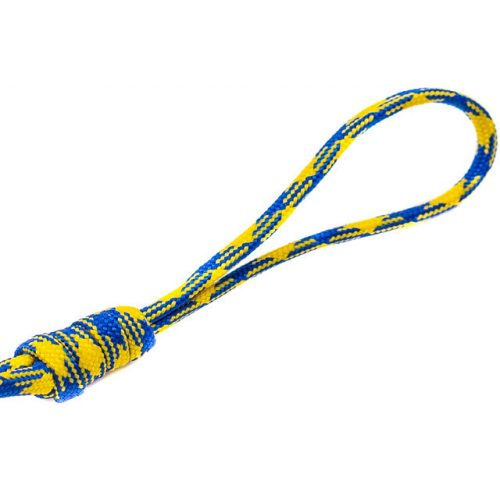 Paracord zsinór, kék-sárga mintás, 4mm vastag