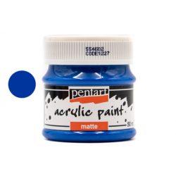 Pentart matt akrilfesték 50 ml kék