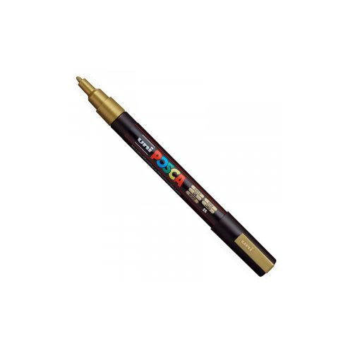 UNI POSCA PC-3M sárga No.2 (0,9-1,3mm)