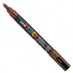 UNI POSCA PC-3M barna (0,9-1,3mm)
