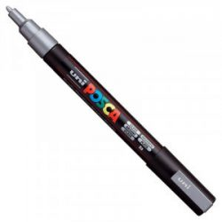 UNI POSCA PC-3M ezüst (0,9-1,3mm)