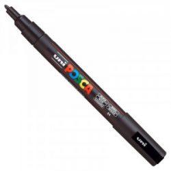 UNI POSCA PC-3M fekete (0,9-1,3mm)