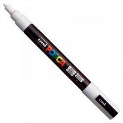 UNI POSCA PC-3M fehér No.1 (0,9-1,3mm)