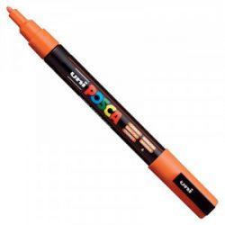 UNI POSCA PC-3M narancs (0,9-1,3mm)