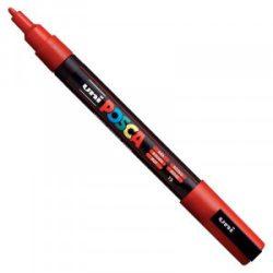 UNI POSCA PC-3M piros (0,9-1,3mm)