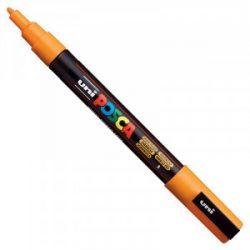 UNI POSCA PC-3M ragyogósárga  (0,9-1,3mm)