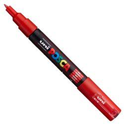 UNI POSCA PC-1M piros (0,7-1mm)
