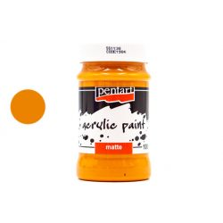 Pentart matt akrilfesték 100 ml narancs 1081