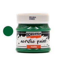 Pentart  matt akrilfesték 50 ml zöld