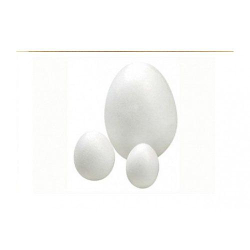 Polisztirol tojás 10 cm-es