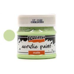 Pentart matt akrilfesték 50 ml mojito zöld