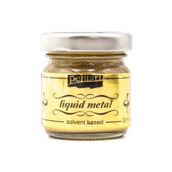 Pentart folyékony fém 30 ml arany