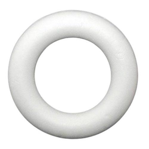 Polisztirol félkoszorú 25 cm-es