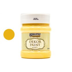 Pentart dekorfesték lágy 230 ml mandarin