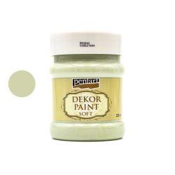 Pentart dekorfesték lágy 230 ml country-zöld