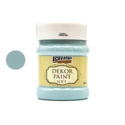 Pentart dekorfesték lágy 230 ml country-kék