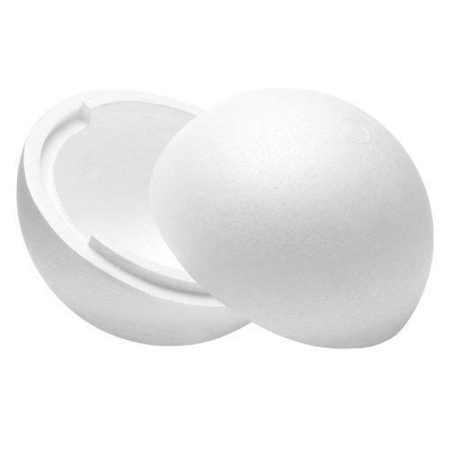 Polisztirol gömb 30 cm-es (két részes)