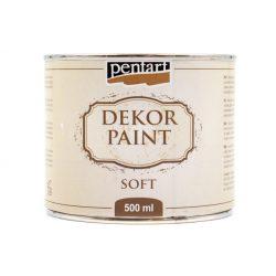 Pentart dekorfesték lágy 500 ml fehér