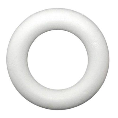 Polisztirol koszorú 25 cm-es