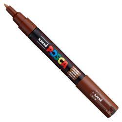 UNI POSCA PC-1M barna (0,7-1mm)