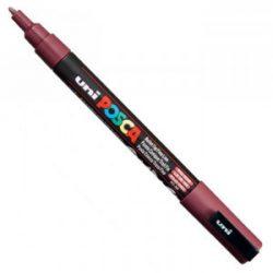 UNI POSCA PC-3M vörösbor (0,9-1,3mm)