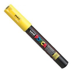 UNI POSCA PC-1M sárga (0,7-1mm)