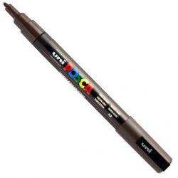 UNI POSCA PC-3M sötét barna (0,9-1,3mm)