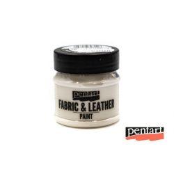 Textilfesték és bőrfesték, 50 ml fehér