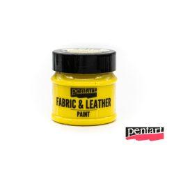 Textilfesték és bőrfesték, 50 ml sárga