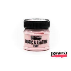 Textilfesték és bőrfesték, 50 ml rózsaszín