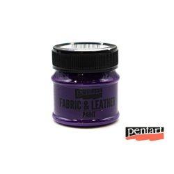 Textilfesték és bőrfesték, 50 ml lila