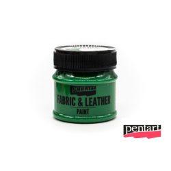 Textilfesték és bőrfesték, 50 ml zöld