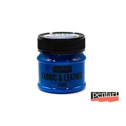 Textilfesték és bőrfesték, 50 ml kék