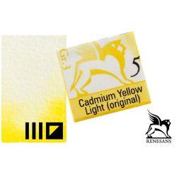 Renesans akvarell szilke 1.5ml, Cadmium Yellow Light