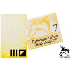 Renesans akvarell szilke 1.5ml, Cadmium Yellow Deep