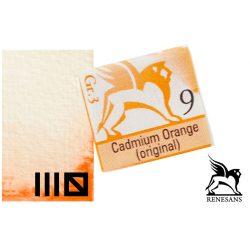 Renesans akvarell szilke 1.5ml, Cadmium Orange