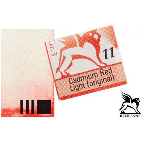 Renesans akvarell szilke 1.5ml, Cadmium Red Light