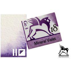 Renesans akvarell szilke 1.5ml, Mineral Violet