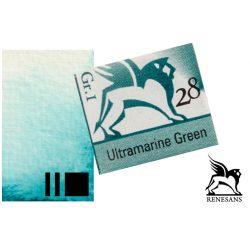 Renesans akvarell szilke 1.5ml, Ultramarine Green