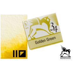 Renesans akvarell szilke 1.5ml, Golden Green