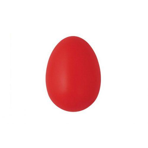 Műanyag tojás, 6 cm, piros