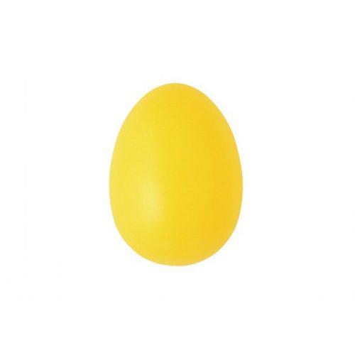 Műanyag tojás, 6 cm, világossárga