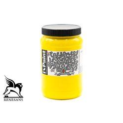 Renesans akrilfesték 500ml i-Paint - Citrom sárga