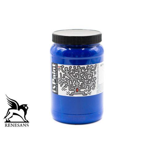 Renesans akrilfesték 500ml i-Paint - Phatalo kék