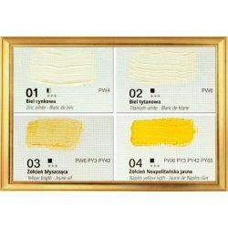 Renesans olajfesték 500ml, titanium white - titánfehér 01