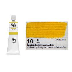 Renesans olajfesték 60ml, cadmium yelow pale - kadmium sárga 10