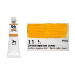 Renesans olajfesték 60ml, cadmium yelow deep - sötét kadmium sárga 11