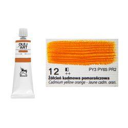 Renesans olajfesték 60ml, cadmium yellow orange - kadmium narancssárga  12