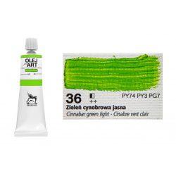 Renesans olajfesték 60ml, cinnabar green light - világos cinóber zöld 36